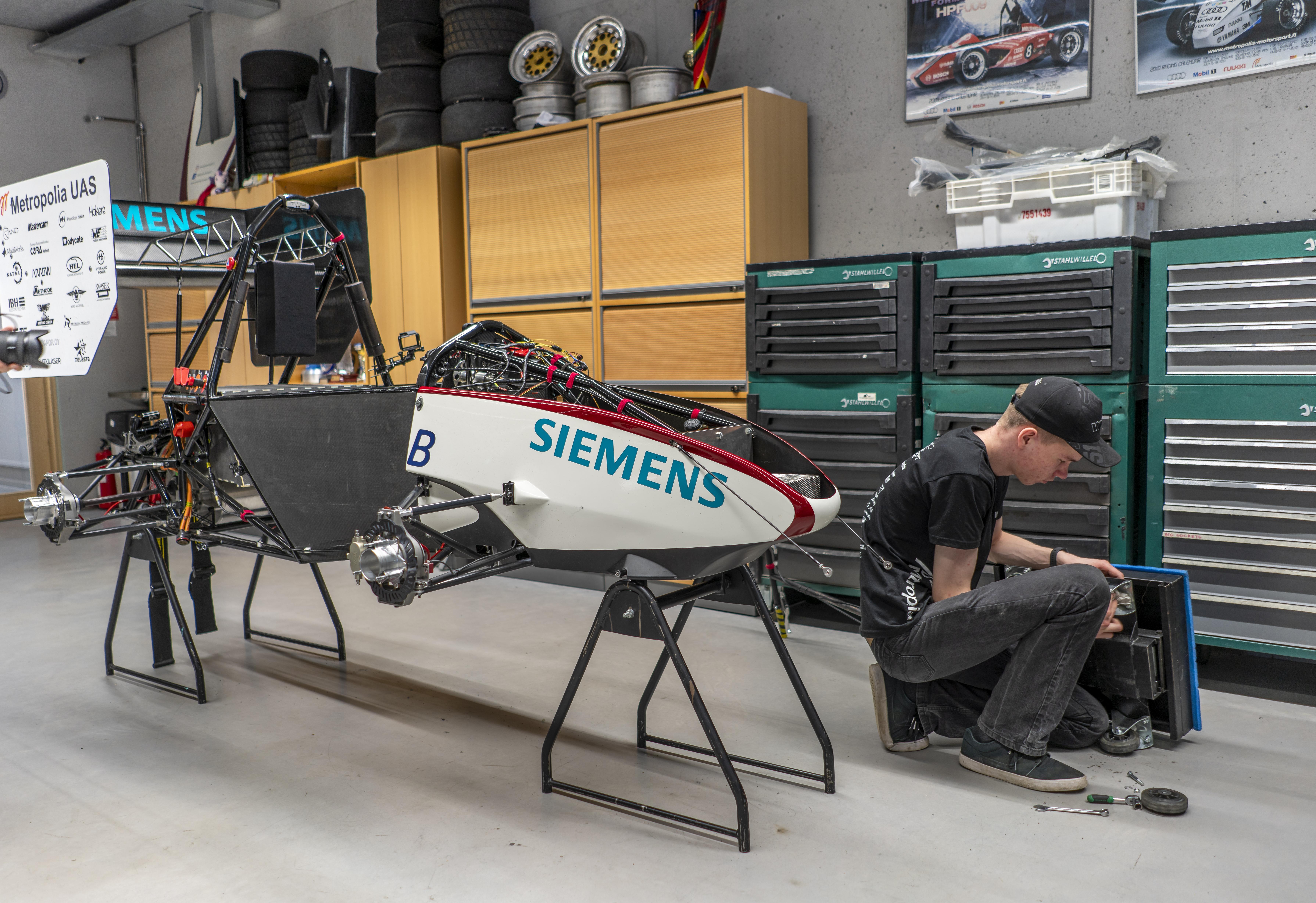 Metropolia Motorsport ajaa sähköformulalla maailmankartalle