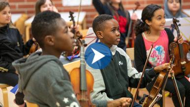 Tempo-orkesteri toivottaa jokaisen lapsen tervetulleeksi