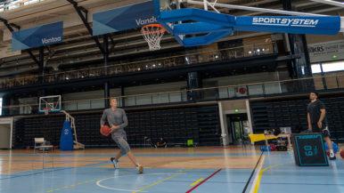 Susijengin Alexander Madsen harjoittelee Vantaalla