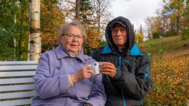 """Aino ja Arvi 50 vuotta yhdessä - """"Aina pitää mennä tai tehdä"""""""