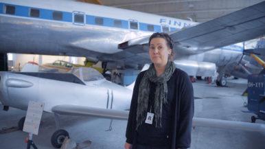 Virtuaalimatka museoihin: Suomen ilmailumuseon Konna