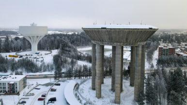 Erikoiset paikat Vantaalla: Hiekkaharjun vesitornit