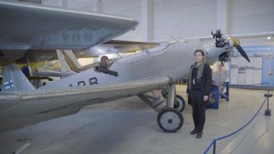 Virtuaalimatka museoihin: Suomen ilmailumuseon Junnu