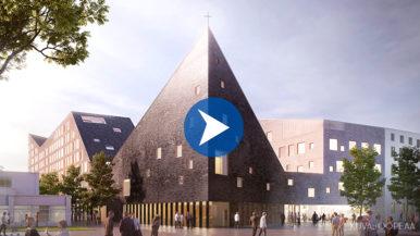 Tikkurilan kirkon kortteliin ehdotetaan muodonmuutosta – tutustu suunnitelmiin