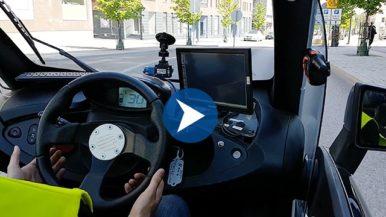 Varian kuljettajat testasivat robottiautoa