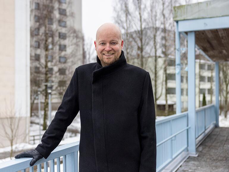 Vantaalainen ministeri Saramo haastattelussa