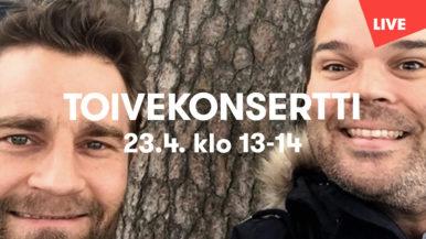 Vantaan Viihdeorkesterin muusikoiden toivekonsertti 23.4.