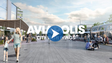 Aviapolis – city with wings