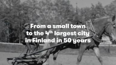 Vantaa's entry video for the European Rising Innovative City Awards