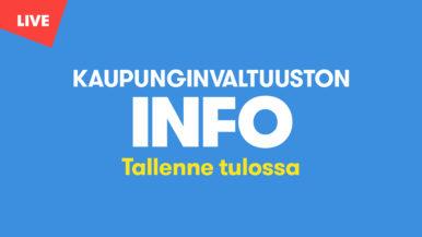 Valtuustoinfo 8.4.2021