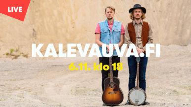 Kalevauva.fi livenä Vantaa-kanavalla 6.11.