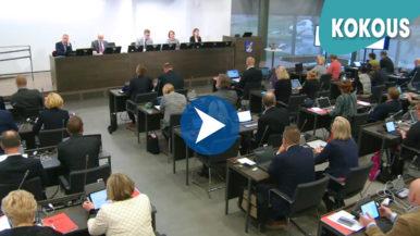Kaupunginjohtajan valinta ja budjetti vuodelle 2018