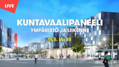 Kuntavaalipaneeli 19.5.2021 - ympäristö ja liikenne