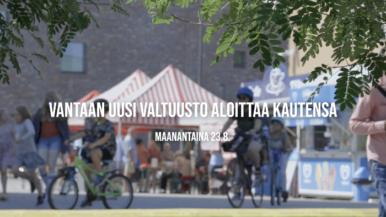 Tervetuloa töihin, Vantaan uusi valtuusto!