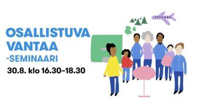 Osallistuva Vantaa -seminaari 30.8.2021