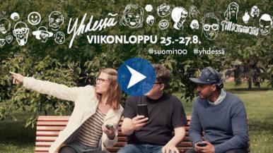 Suomi 100 – Yhdessä-viikonloppu
