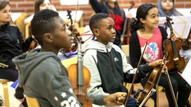 Tempo orchestra welcomes every child
