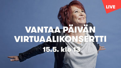 Vietä Vantaan päivää Virve Rostin kanssa