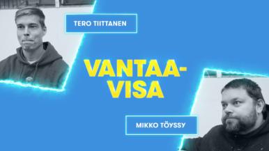 Penkinlämmittäjät Vantaa-visan piinapenkissä